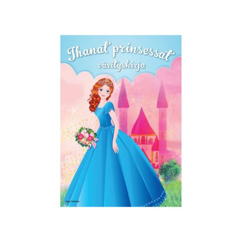 Tactic Ihanat Prinsessat värityskirja