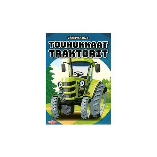 Tactic Touhukkaat traktorit värityskirja