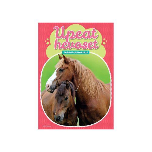 Upeat hevoset tarrapuuhakirja