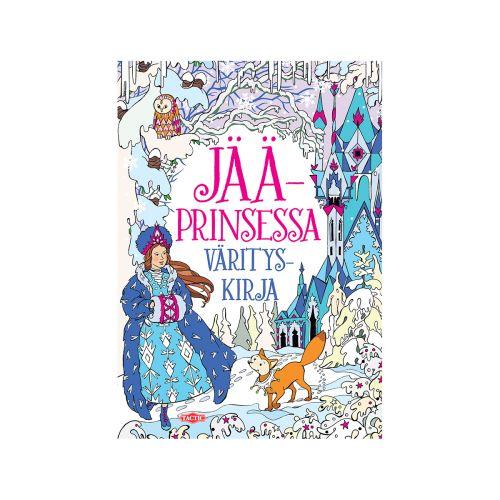 Jääprinsessa värityskirja