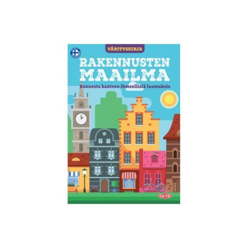 Tactic Rakennusten maailma värityskirja