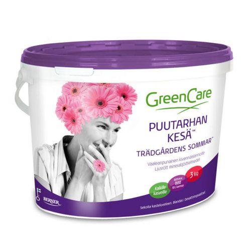 GreenCare Puutarhan kesä lannoite 3kg