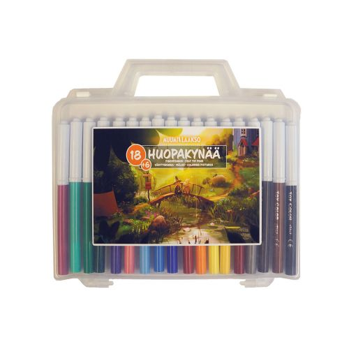 Muumi Muumilaakso värityssalkku 18 väriä