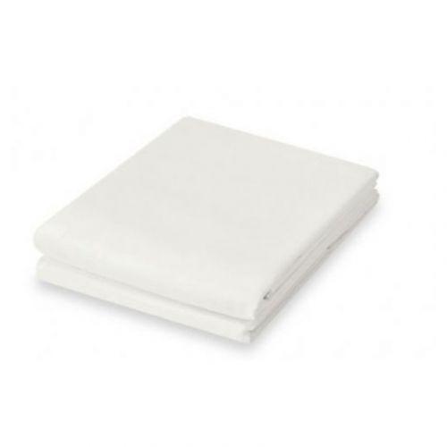 Basic Fashion satiinialuslakana 150x270cm, valkoinen