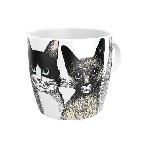 Vallila muki Kitties 3,5dl valkoinen
