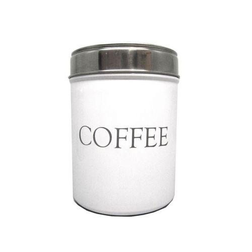 AmandaB kahvipurkki 11x11x15cm valkoinen