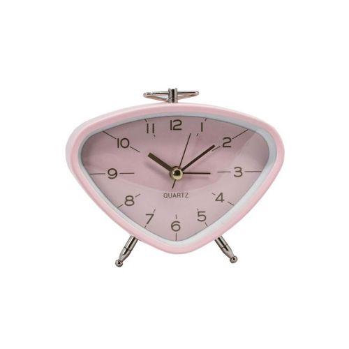 AmandaB herätyskello 11,4*4,8*9,3cm roosa
