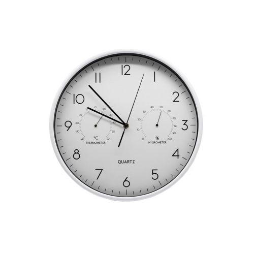 AmandaB kello 3-näytöllä 37,8*5,4cm valkoinen