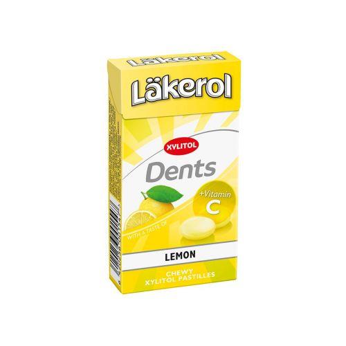 Läkerol Dents Sitruuna ksylitolipastilli 36g