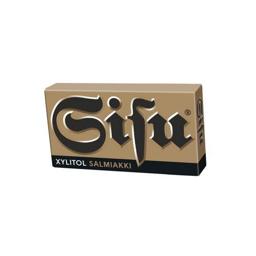 Sisu Salmiakki Xylitol pastilli 36g