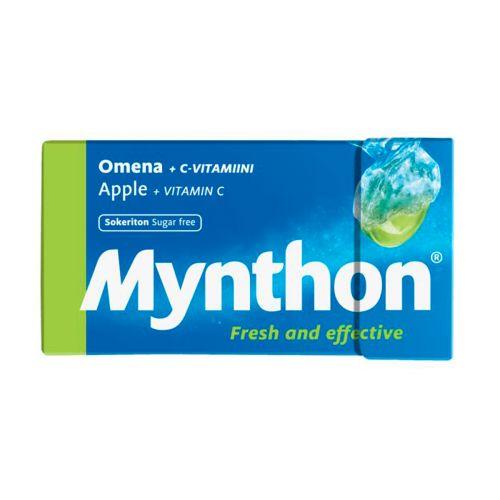 Mynthon +C Omena Sokeriton pastilli 31g