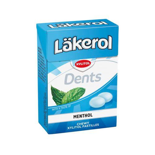 Läkerol Dents Menthol ksylitolipastilli 85g