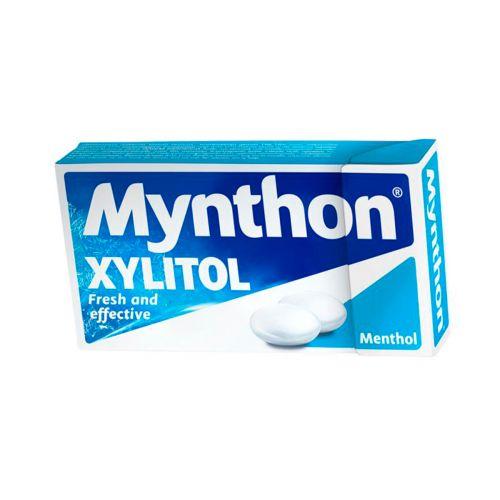 Mynthon Xylitol Menthol pastillit 31g