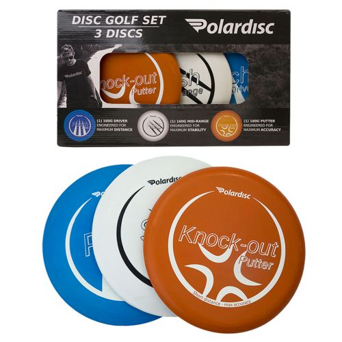 Polardisc Frisbeegolf 3kpl kiekkosetti