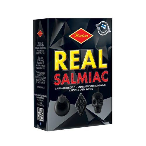 Halva Real Salmiac salmiakkisekoitus 230g