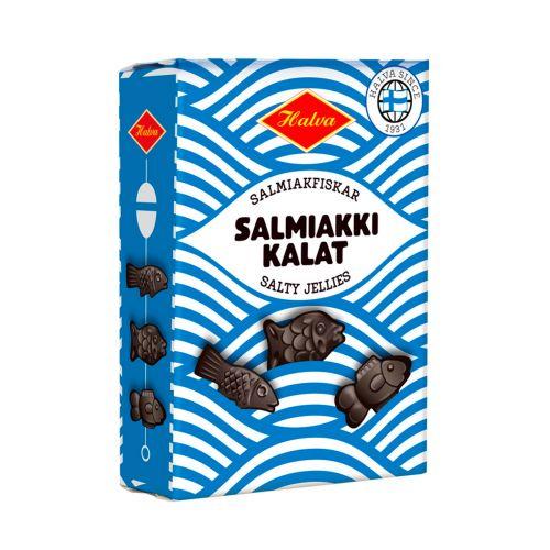 Halva Salmiakkikalat 240g