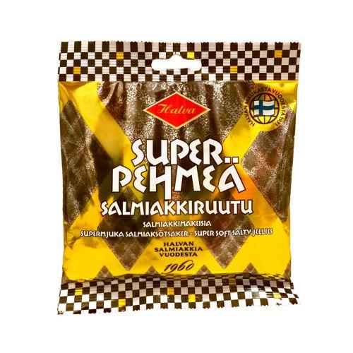 Halva Super Pehmeä Salmiakkiruutu 100g