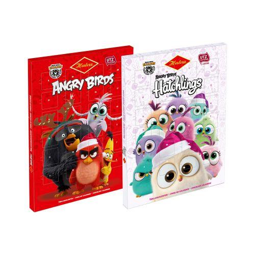 Halva Angry Birds Suklaakalenteri UTZ 50g