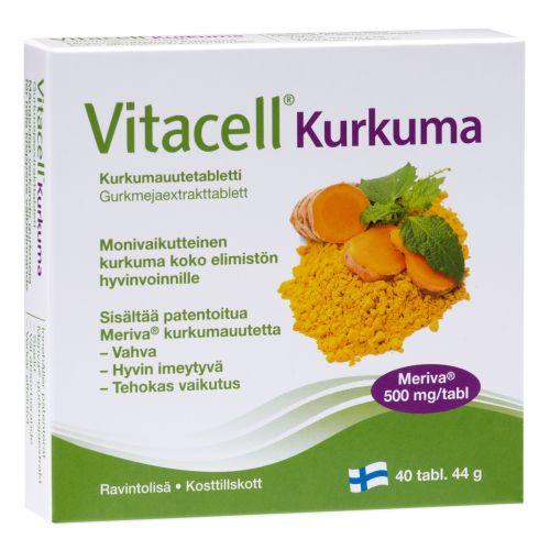 VITACELL KURKUMA  40 KPL