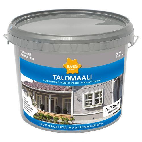 ILVES TALOMAALI A-POHJA VALKOINEN 2,7L 2,7 L