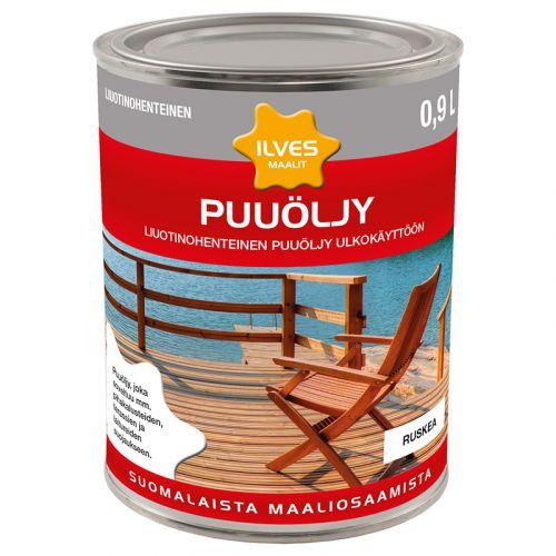 ILVES PUUÖLJY RUSKEA LIUOTINOH. 0,9L 900 ML