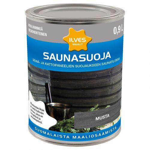 ILVES SAUNASUOJA MUSTA 0,9L  900 ML