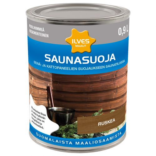ILVES SAUNASUOJA RUSKEA 0,9L  900 ML