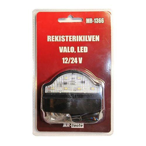 MR-TUOTE LED REKISTERIKILVEN VALO10-30V/2W
