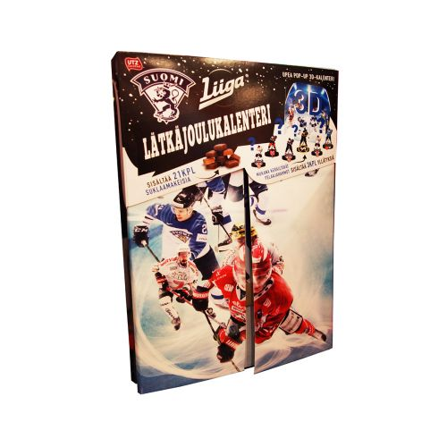 Lätkä Joulukalenteri Pop-up 3D 175g