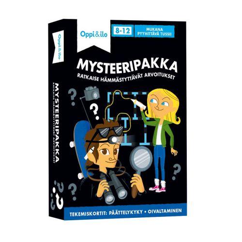 Oppi ja Ilo -puuhakortit, Mysteeripaikka 8-12v