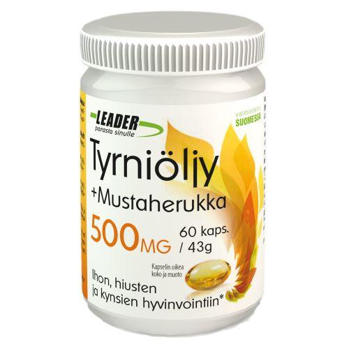 Leader Tyrniöljy+Mustaherukka 60 kpl
