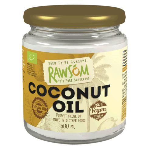 Rawsom Kookosöljy Luomu  500 ml