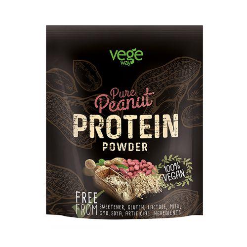 Vegeway Pure Peanut Protein Powder Maapähkinäprot.jauhe 250 g