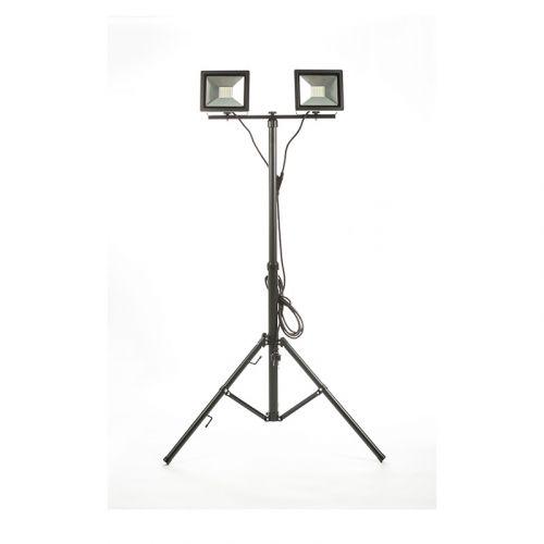 LED SLIM VALONHEITIN 2 X 30 W TRIPOD-JALALLA