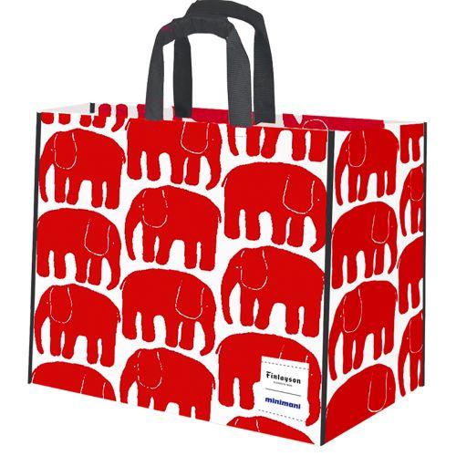 Kestokassi punainen elefantti