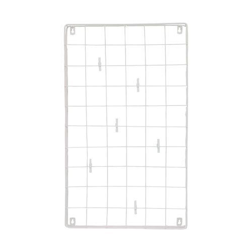 Seinäverkko valkoinen 68.5*41*4.5cm