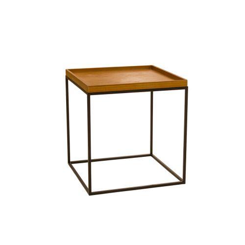 Living pöytä puukansi 40x40x41cm