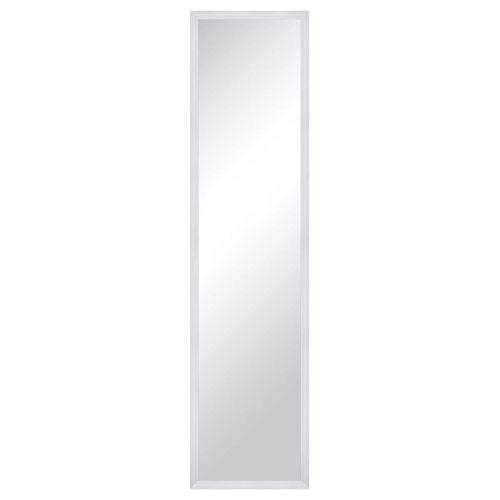 Living peili 33x123cm oven päälle valkoinen