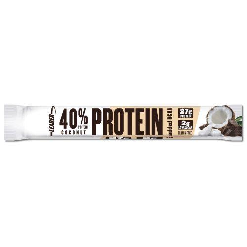 Leader 40% Protein + BCAA Patukka Kookos 68 g