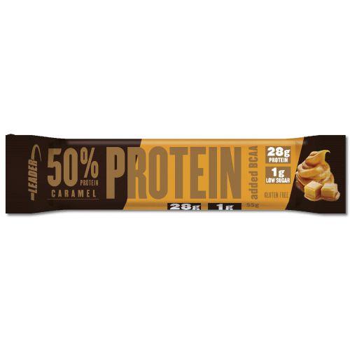 Leader 50% Protein + BCAA Patukka Karamelli 55 g