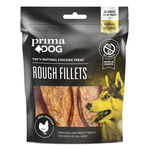 PRIMADOG ROUGH FILLETS KANAFILEE 90 G