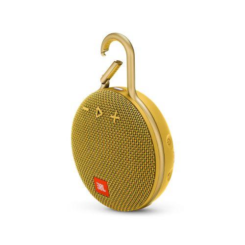 JBL CLIP 3 Bluetooth kaiutin, keltainen