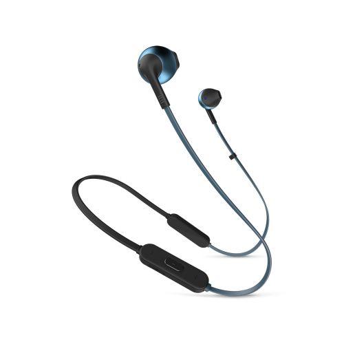 JBL TUNE 205BT Bluetooth nappikuulokkeet, sininen