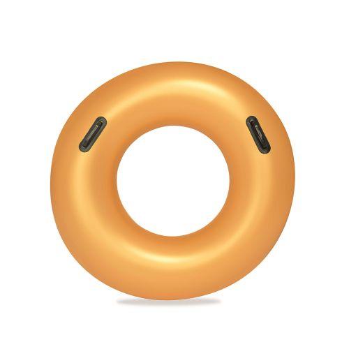 Bestway kultainen uimarengas 91cm