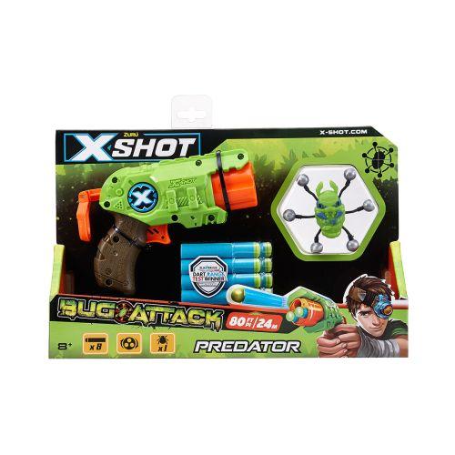 X-Shot Bug Attack Predator vaahtomuoviase