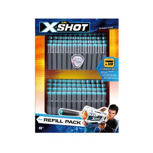 X-Shot Excel 100 Darts täyttöpakkaus