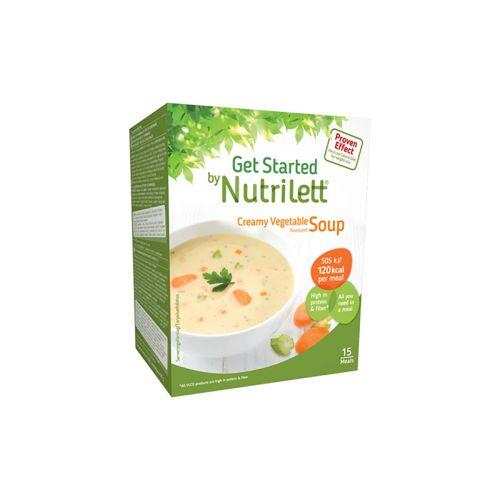 NUTRILETT SOUP 15KPL CREAMY VEGETABLE 495 G