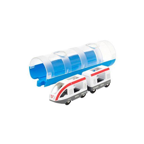 BRIO Matkustusjuna- ja Tunnelisetti