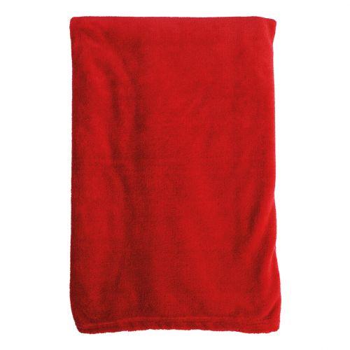 Noble House fleecehuopa Coral 125x150cm punainen