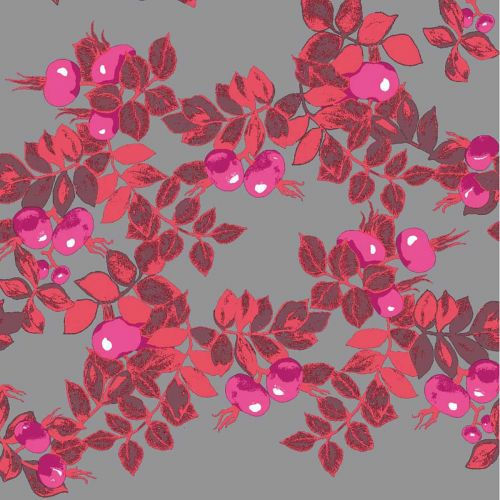 Duni LL Vallila Ruusunen pinkki 24cm